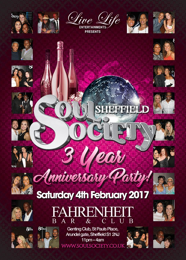 Soul Society Sheffield 3rd Anniversary Party - Soul Society